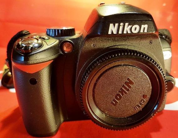 Nikon D60 Com 7300 Cliques C/2 Bat