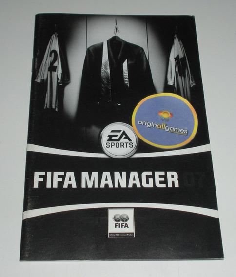 Fifa Manager 07 ¦ Manual Físico Original Usado