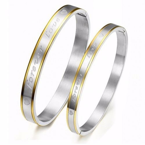 Forever Love- Couple Bangle Set Of 2