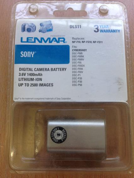 Bateria 3.6v 1400mah Vídeo Cámara Lenmar Sony Dls11