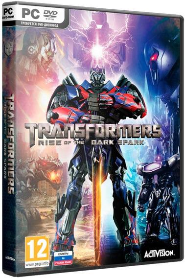 Transformers Rise Of The Dark Spark - Pc Dvd - Frete 8 R$