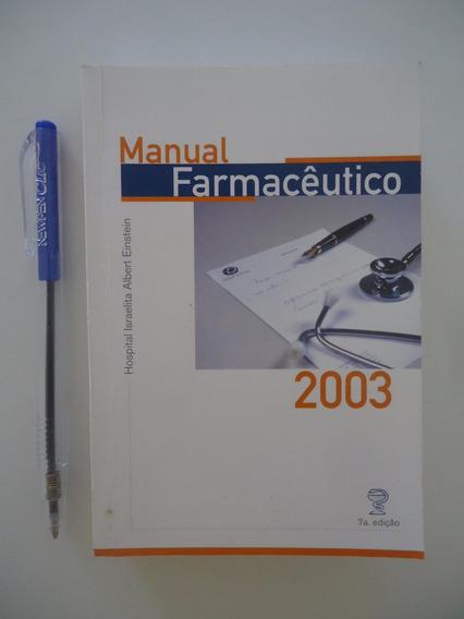 Manual Farmacêutico 2003 - Albert Einstein