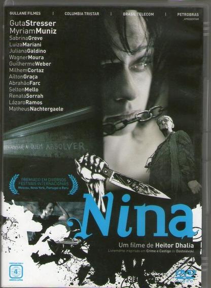 Dvd Nina - Myriam Muniz - Novo***