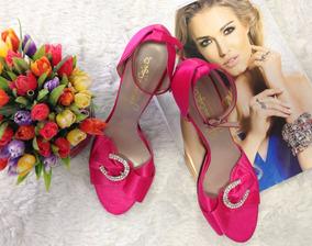 758a448692 Sapatos Femininos Importados Rosa Pink - Calçados