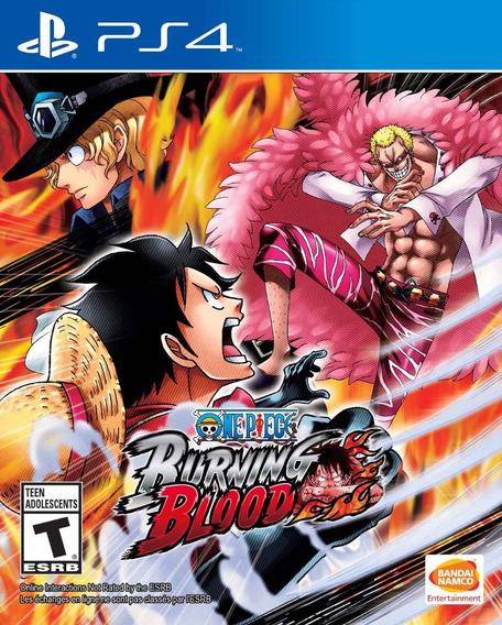 One Piece Burning Blood - Ps4 - Pronta Entrega!