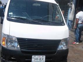 Camioneta Urvan Nissan 2008 2.5