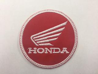 Parche Honda Motos Red Wing Parche Biker M