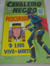 Cavaleiro Negro Cores Nº 235 De 1972 Faroeste E Cowboys Rge