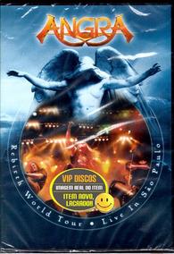 Dvd Angra Rebirth World Tour Live In São Paulo - Lacrado!