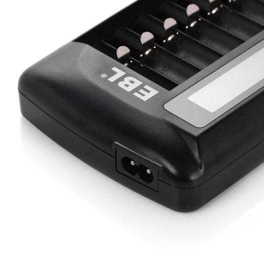 20 Cargadores P Baterias Recargables Aa Aaa 9v Capacidad 12