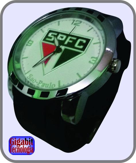 Relógio Maculino Times De Futebol São Paulo