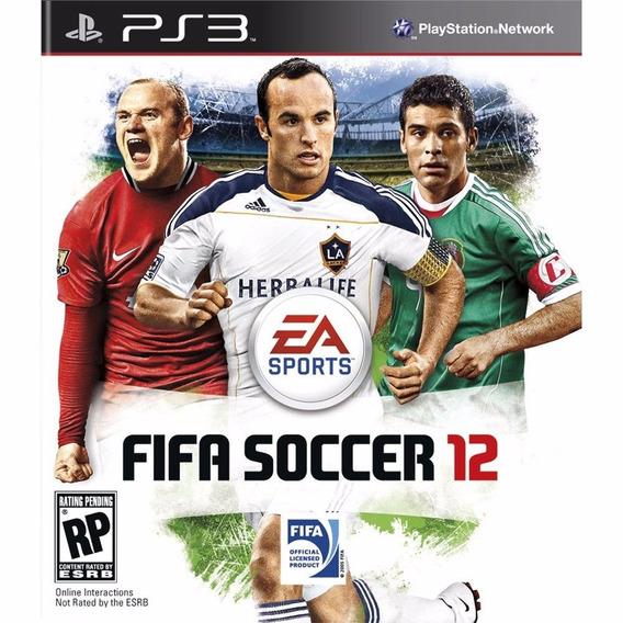 Fifa Soccer 12 Original Semi- Novo Ps3