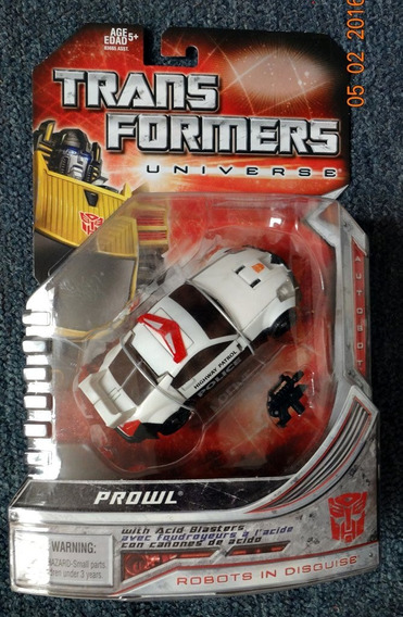 Autobot Prowl Transformers Universe Hasbro Deluxe Class 2004