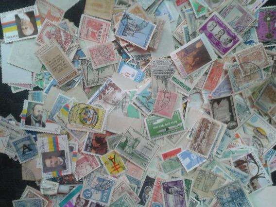 Coleccion De Estampillas De Colombia: 1200 Sellos Diferentes
