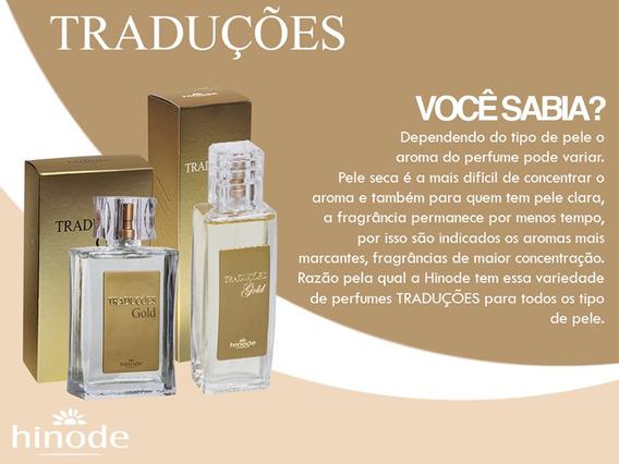 Perfume Traduções Gold Hinode, Diversas Fragrâncias