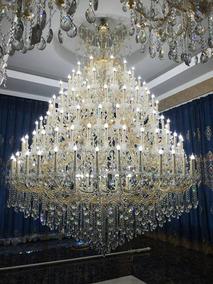 Lustre Candelabro Cristal K9 162 Braços
