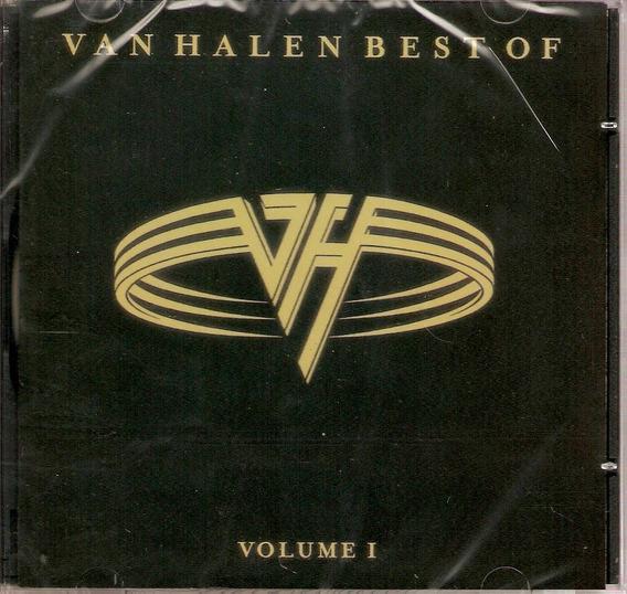 Cd Van Halen - Best Of Vol. 1 - Novo***