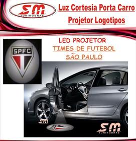 Projetor Porta De Carro Luz Cortesia Time De São Paulo