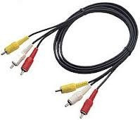 Puntotecno - Cable Audio Video Rca 3x3  1,8 Mts