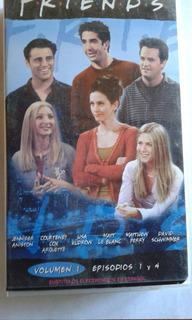 Vhs Serie Friends Temporada 06 Vol 1 Capitulos Del 1 Al 4