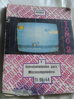 Juegos Paramicrocomputadora Ti-99 / 4a Envios C51