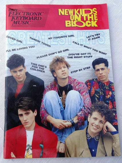 New Kids On The Block - Greatest Hits - Letras Para Teclado