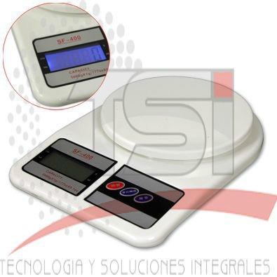 !!!exelente Bascula Digital 7kgr Lcd 1 Año De Garantia!!!