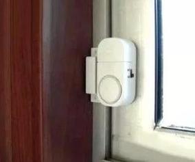 Alarme Sonoro Porta Janela Sensor Magnético Sirene S/ Fio