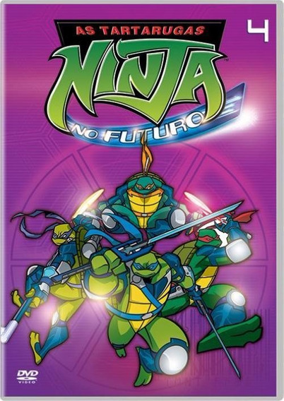 As Tartarugas Ninja No Futuro 4 - Dvd - Tmnt - Fast Foward