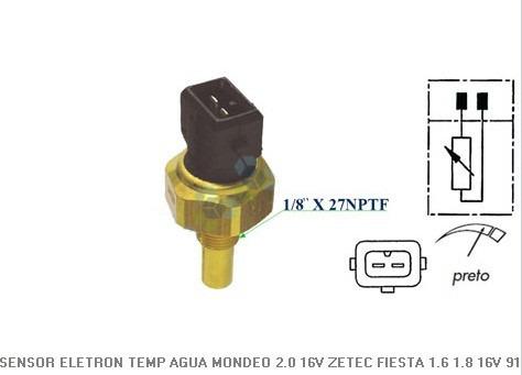 02 Sensor Temperatura Painel E Injeção Escort Mondeo Zetec