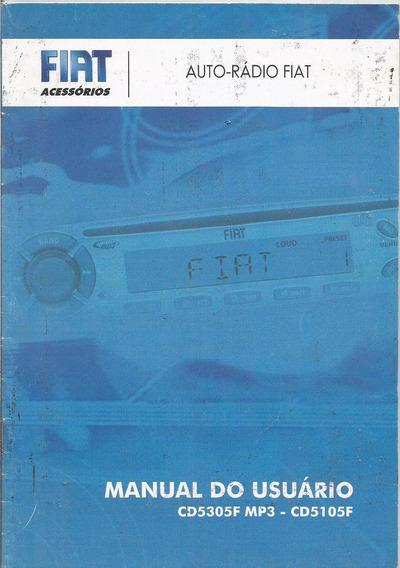 Manual Proprietario Som Fiat Cd5305f Mp3 Cd5105f Auto Rádio