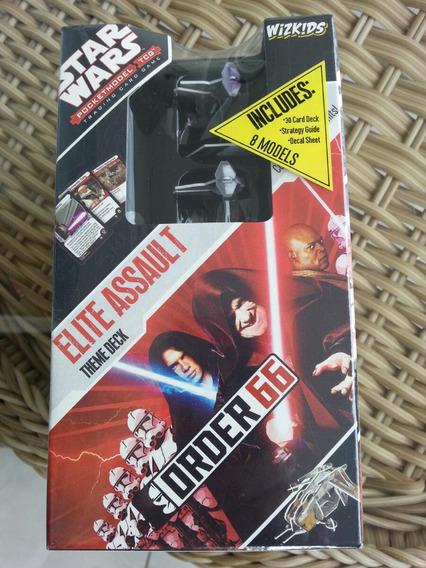 08 Miniaturas Star Wars Order 66 Elite Assault + 30 Cards