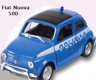 Autos De Policía - Colección Miniatura - 3 Modelos