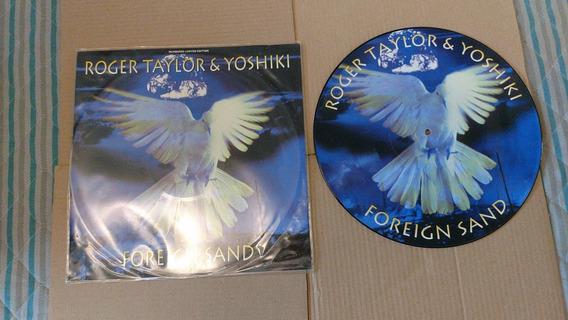 Lp Picture Disc Roger Taylor Foreign Sand Limitado