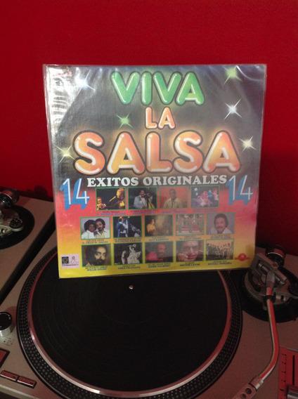 Viva La Salsa 14 Exitos - Acetato Vinyl, Lp