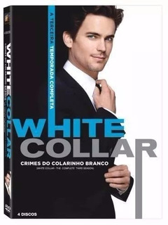 Box White Collar - 3ª Temporada - Lacrado - Frete R$ 16,00