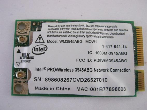 Placa Wifi P/ Notebook Sony Vaio Vgn-nr180e 1-417-641-14
