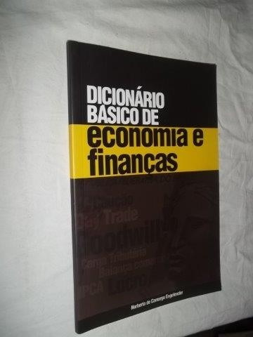 * Livro - Dicionário Basico De Economia E Finanças