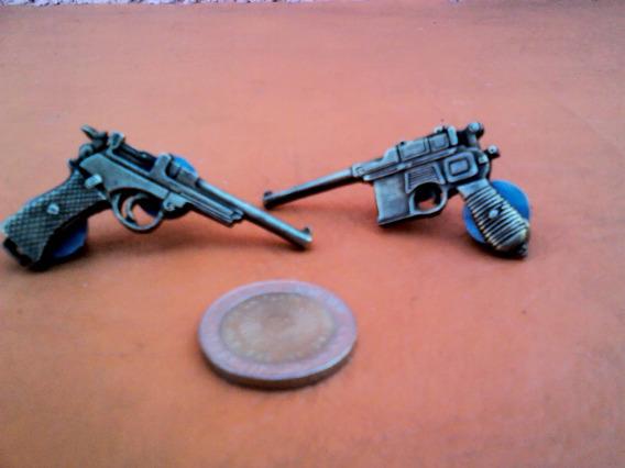 Lote X 2 Pines Prendedores Replicas Armas Militaria