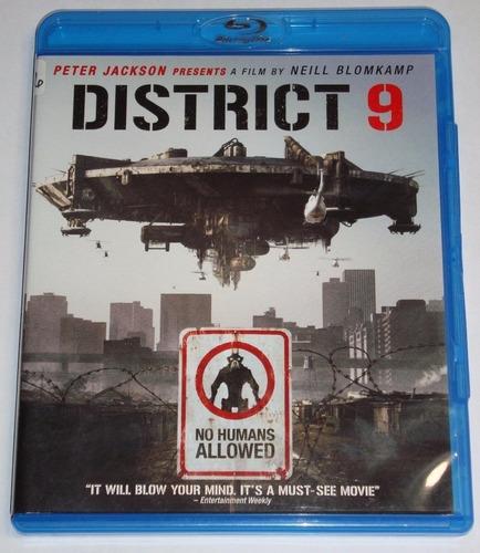 Imagen 1 de 1 de Bluray Distrito 9 Original Acción Usada Eng Sharlto Copley