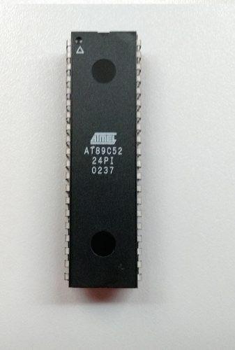 Microcontrolador Atmel At89c52-24pi (89 C 52 - 24 Pi) (8051)
