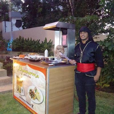 Shawarma Para Fiestas, Perros Calientes, Arepas, Hamburguesa