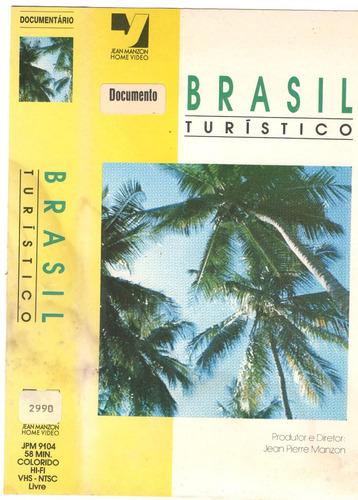 Vhs Brasil Turistico - Jean Pierre Manzon Leia