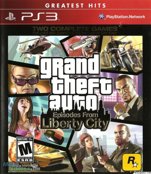 Jogo Lacrado Gta Episodes From Liberty City Playstation Ps3