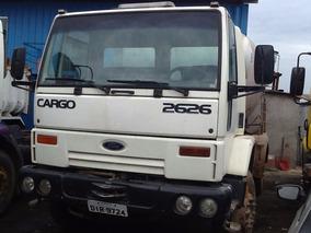 Ford Cargo 2626 Traçado Betoneira De Concreto Caminhão