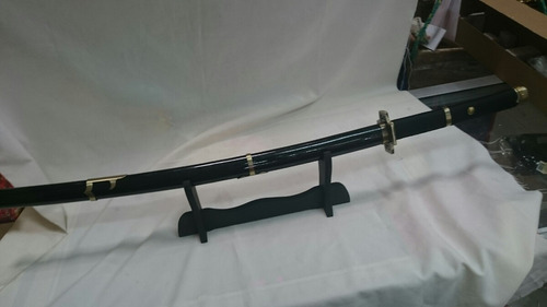Espada Samurai Gold Acero Golddragon Cosplay Cine Utileria