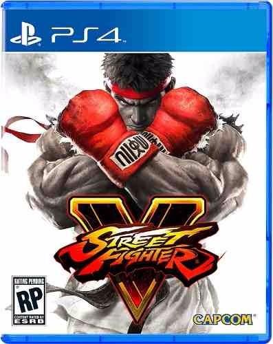 Street Fighter V Ps4 Playstation 4 Mídia Física