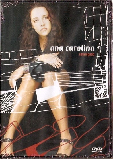 Dvd Ana Carolina - Estampado - Novo***