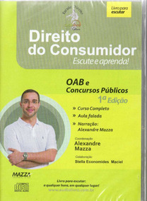 Cd Rom -direito Do Consumidor - Autor Prof. Alexandre Maz