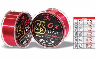 Nylon Rojo Maruri Japones Super Strong 0,33